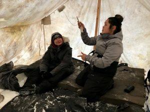 Playing Ayakaaq Traditional Inuit Game - PMC Renewal